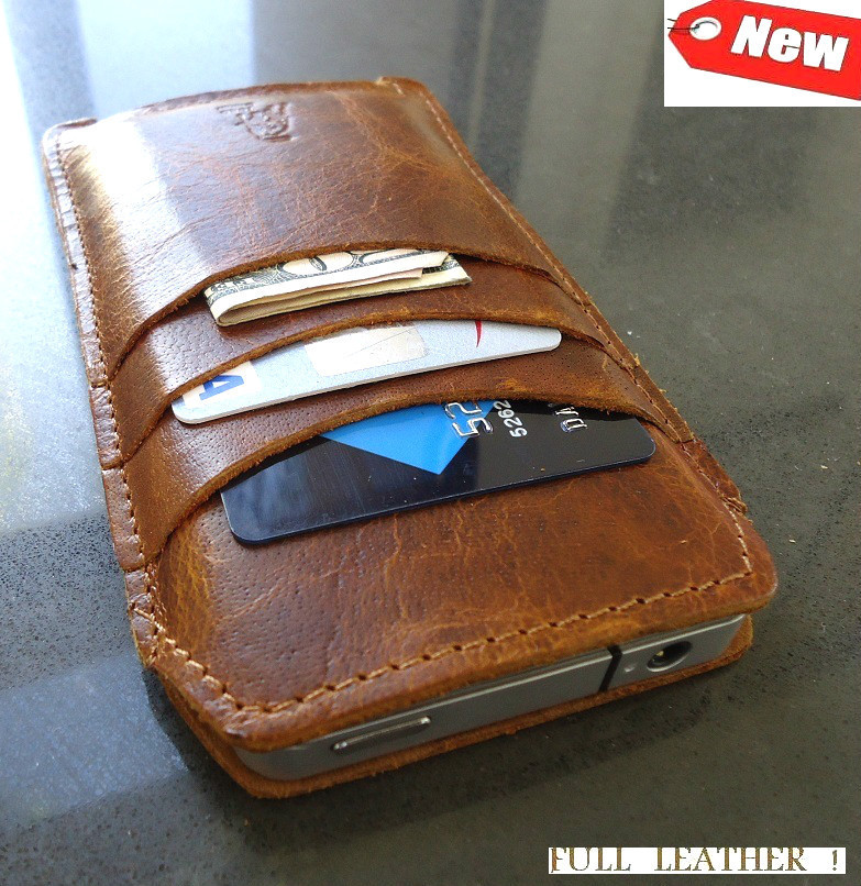 leather iphone 5 case java genuine leather wallet for iphone 5 on luulla 15606